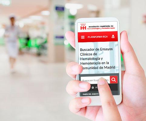 Aplicación de ensayos clínicos activos en hematología y hemoterapia - ECA-AMHH